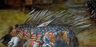 Bitwa pod Kłuszynem obraz Szymona Boguszowicza, natarcie husarii