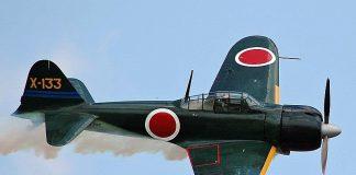 Mitsubishi A6M3 Zero, japoński mysliwiec czasów II wojny światowej