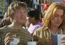 Leonardo DiCaprio i Johnny Depp-Co gryzie Gilberta Grape'a-What's Eating Gilbert Grape