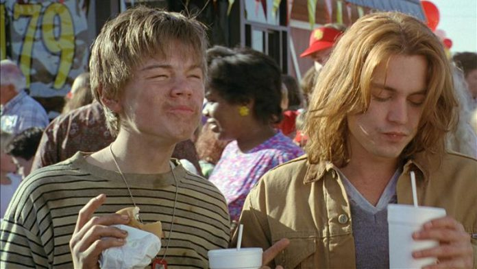 Leonardo DiCaprio i Johnny Depp-Co gryzie Gilberta Grape'a-What's Eating Gilbert Grape