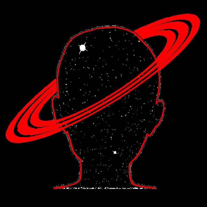 Grafika, pierścienie planetarne wokół głowy