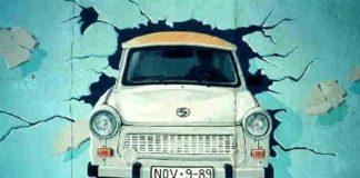 Trabant, mural na Murze Berlińskim, quiz PRL