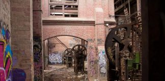 Opuszczona fabryka - ciekawy quiz tematyczny