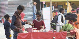 Kuchnia uliczna w Indiach-street food-quiz tematyczny o Indiach
