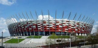 Stadion Narodowy w Warszawie w kształcie wiklinowego koszyka-quiz o Polsce