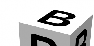 Litera B-alfabet, grafika-quiz ogólny