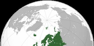 Mapa Europy-quiz o państwach Europejskich