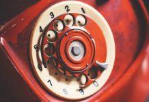 stary telefon tarczowy-quiz wiedzy ogólnej
