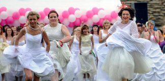 Bieg w sukniach ślubnych-quiz o komediach romantycznych