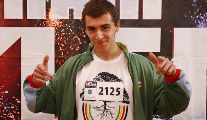 Kamil Bednarek, wystep w Mam Talent, nr. 2125