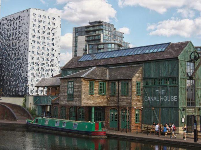 Birmingham-kanał wodny- The Canal Hoause