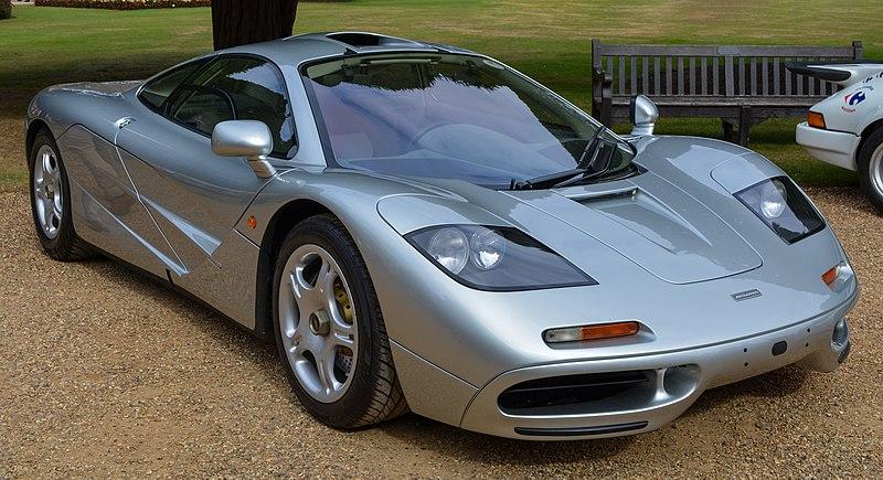 McLaren F1-trzymiejscowy Supersamochód