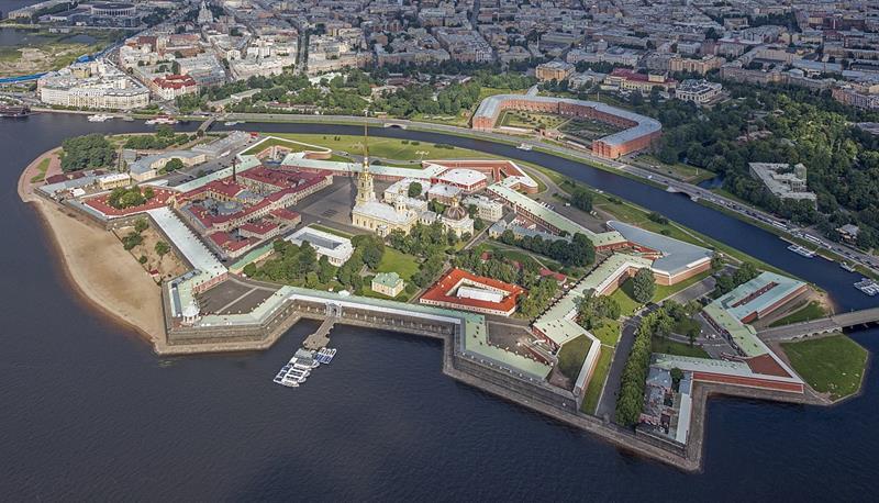 Petersburg-Sankt Petersburg-Piotrogród-Leningrad-Twierdza Pietropawłowska