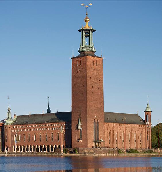 Ratusz miejski w Sztokholmie-Stadshuset