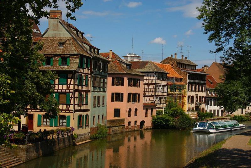 Strasbourg-Petite France-Mała Francja-Quiz
