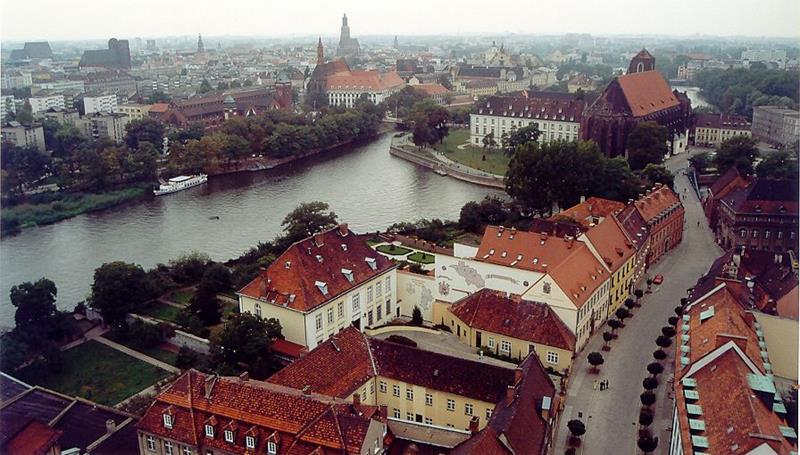 Wrocław-Odra-Śródmiejski Węzeł Wodny-Polska Wenecja