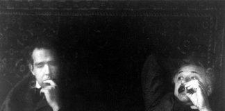 Albert Einstein, Niels Bohr strefahumoru