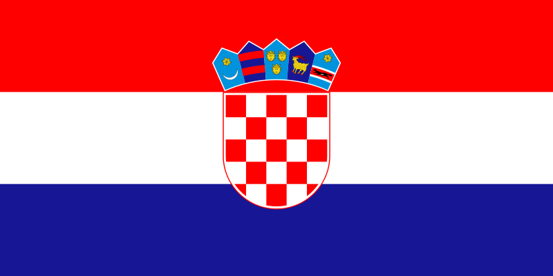 Chorwacja flaga