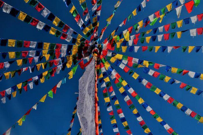 Flagi buddyjskie