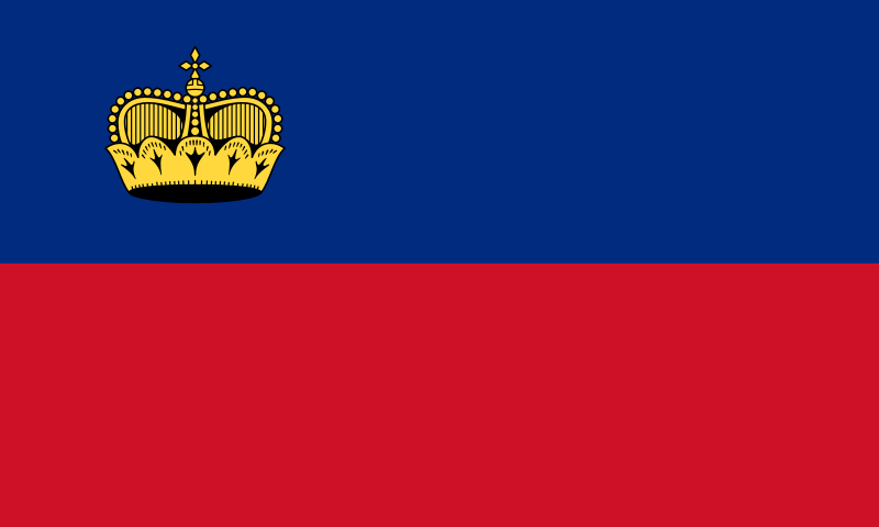 Liechtenstein flaga
