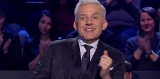Hubert Urbański w teleturnieju Milionerzy fot. TVN