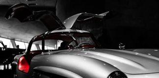 Mercedes 300 SL Gullwing-Mercedes-Benz Museum, Stuttgart, Niemcy