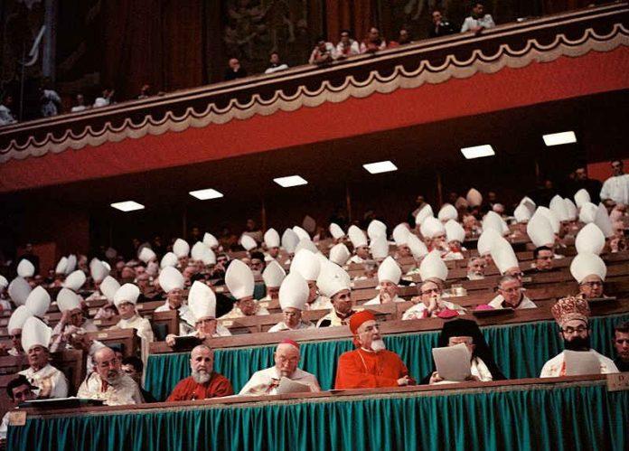 Sobór watykański II, obrady synodu w Watykanie, w Bazylice Świętego Piotra