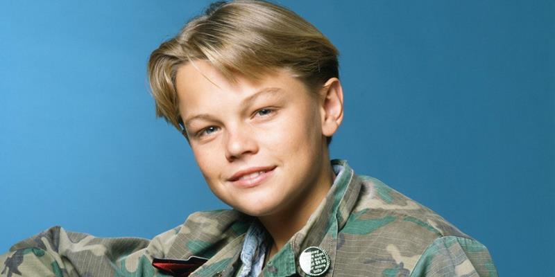 Młody Leonardo DiCaprio debiutujący w serialu Spokojnie tatuśku, Parenthood