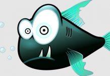 Pirania, śmieszny obrazek fot. pixabay